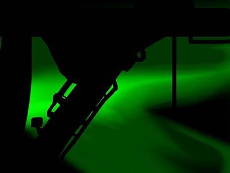 ISS Strut by Chuck Pfarrer