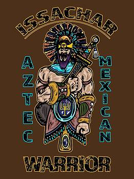 Issachar Aztec Warrior by Robert Watson