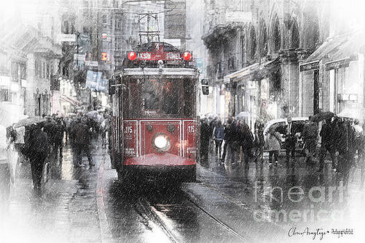 Istambool Historic Tram by Chris Armytage