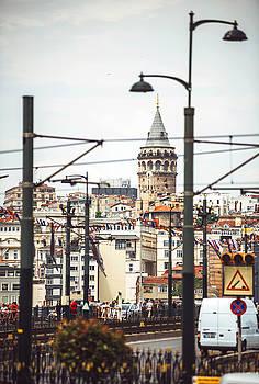 Eduardo Huelin - Istanbul view Turkey travel architecture background
