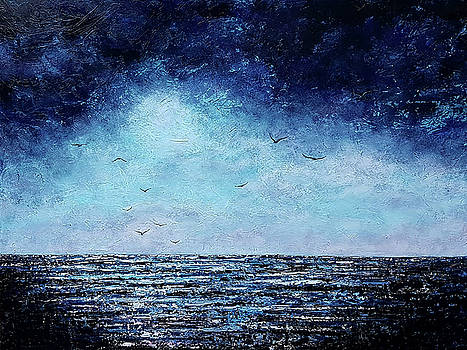 It Comes in Waves by Cindy Johnston