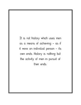 It is not history which... by Famous Quotes