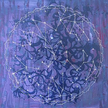 It is Written in the Stars Mandala by Louise Gale