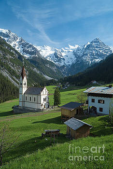 Italian Alps Hidden Treasure by Jeffrey Worthington
