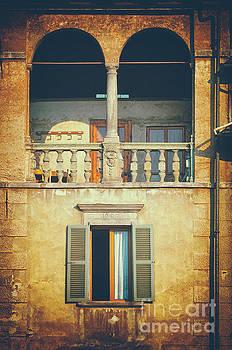Italian arched balcony by Silvia Ganora
