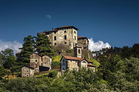 Italian castle by Livio Ferrari