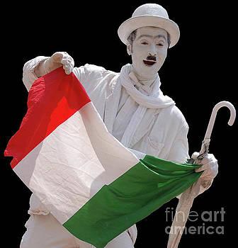 Italian Charlie Chaplin by Frank Stallone