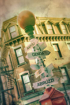 Joann Vitali - Italian City Signs - Boston North End