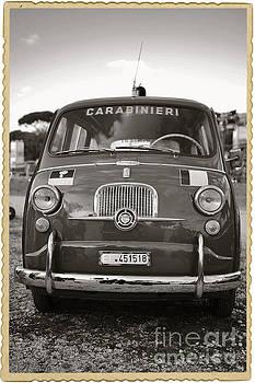 Fiat 600 Italian classic car by Stefano Senise