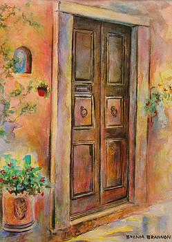 Italian Door by Brenda Brannon