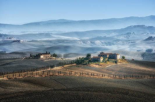 Italian hills 3 by Livio Ferrari