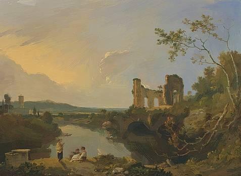 Wilson Richard - Italian Landscape Morning 1765