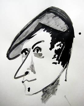 Italian Man Portrait by Raul Morales