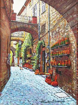 Italian Street Market by Thomas Michael Meddaugh