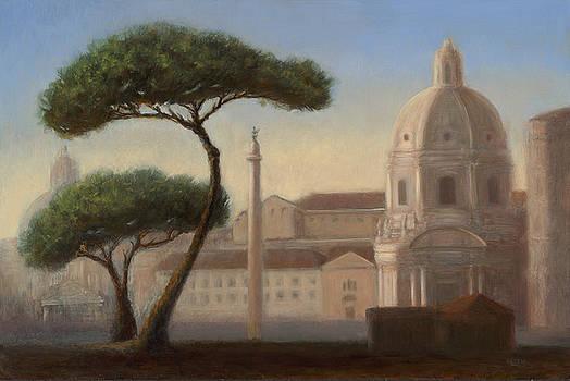 Italian Trees by Christy Olsen