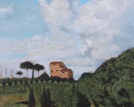 Italian Villa by Barbara Joyce
