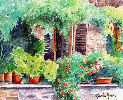 Italian Villa by Marsha Young