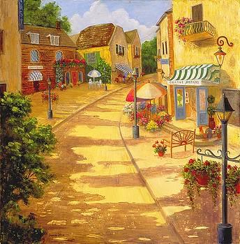 Italian Village by Jeanene Stein