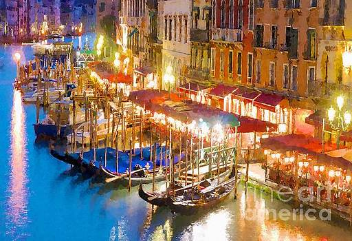 Italy Venice by MS  Fineart Creations