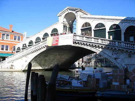 Yvonne Ayoub - Italy Venice  Rialto Bridge