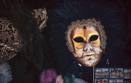 Eduardo Huelin - Italy Venice typical mask
