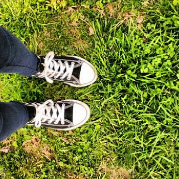 It's A Chuck Taylor Kind Of Day by Melanie Conway