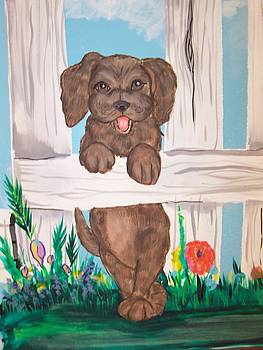 It's a Puppie's Life by Lorinda Fore