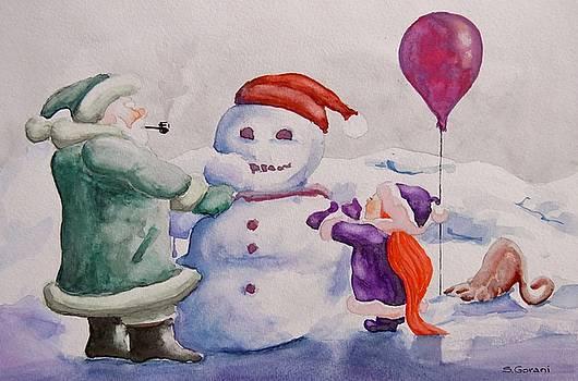 It's Cold Grandpa by Geni Gorani