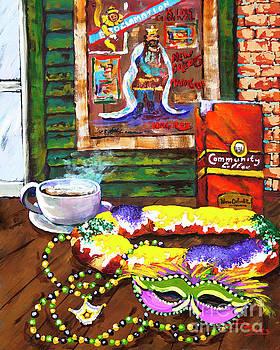 It's Mardi Gras Time by Dianne Parks