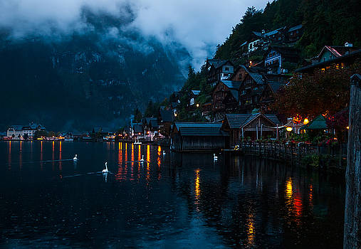 It's raining in Hallstat by ACAs Photography