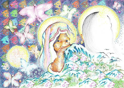 Itzpapalotl y la joven virgin by Doug Johnson