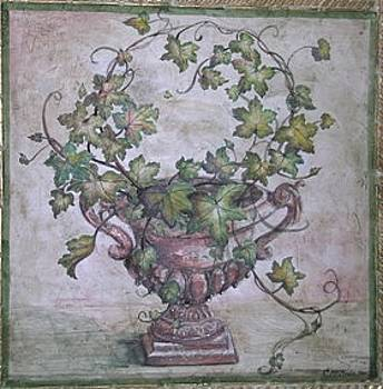Ivy Urn by Sherry McClendon