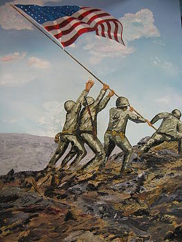 Iwo Jima by Brian Hustead