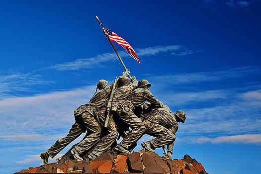 Iwo Jima Memorial by Daniel B McNeill