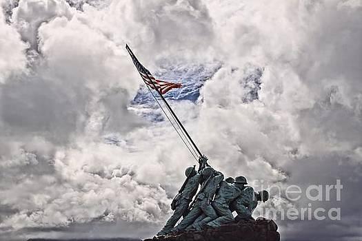 Iwo Jima Memorial by DJ Florek
