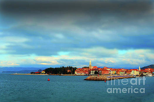 Izola from the Marina by Graham Hawcroft pixsellpix