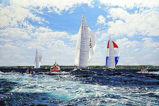 J Class Yachts by Mark Woollacott