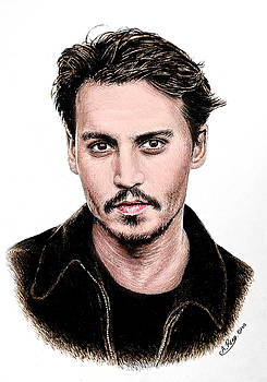J Depp colour 1 by Andrew Read