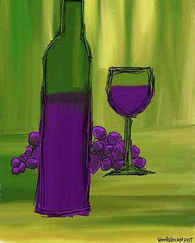 J. Juice #digitalart #fauvism by Bohemian Fist