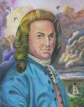 J. S. Bach by Norb Lisinski