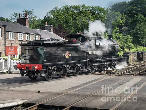 J27 Locomotive 65894 on North York Moors Railway by Simon Pocklington