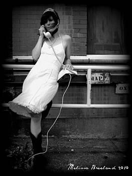 Jaci On The Phone by Melissa Wyatt