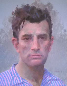 Jack Kerouac by Mike Hanlon