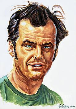 Jack Nicholson by Spiros Soutsos