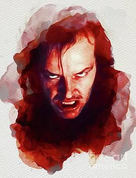 Jack Nicholson, The Shining by John Springfield