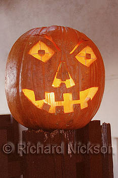 Jack-o-lantern by Richard Nickson
