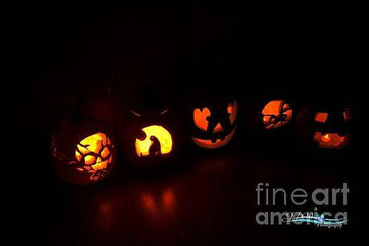 Jack 'O' Lanterns by Jannice Walker