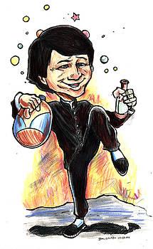 Jackie Chan Drunken Master by John Ashton Golden