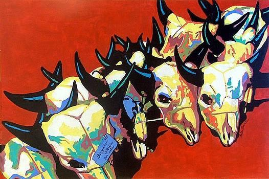 Jackson Hole Buffalo Skull Sale by Gail Zavala