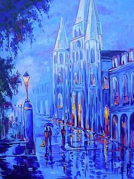 Jackson Square by Elaine Adel Cummins